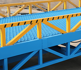 mobile loading ramp truss structure