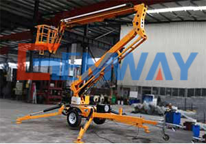 Towable Boom Lifts, 14m
