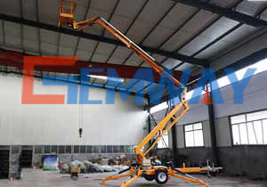 Tow Behind Boom Lift, 16m